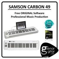 Samson Carbon 49 - USB Midi Controller (Free ORIGINAL Software)
