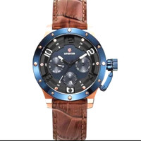 Jam Tangan Expedition Blue Croco Wanita