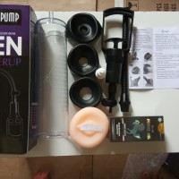 alat kesehatan pria grosir vakum pembesar vakum ungu +silicon +lintah