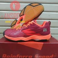 SEPATU BADMINTON RS JEFFER LIMITED RED