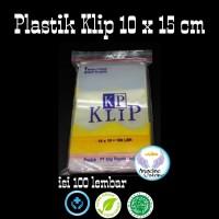 @100 pcs plastik klip 10x15 cm clip segel obat serbaguna