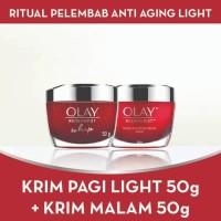 LEBIH HEMAT Olay Ritual Anti Aging Light