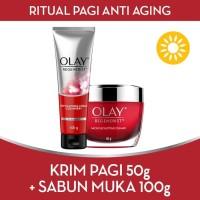 LEBIH HEMAT Olay Ritual Pagi Anti Aging