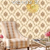 Wallpaper Dinding Classic Damask VICTORY VC132-1 - 132-5