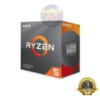 AMD Ryzen 5 3500X 3.6Ghz Up To 4.1Ghz Cache 32MB 65W AM4 [Box]