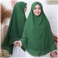 Khimar Ceruti Jilbab Syari JOLIMO SEMI JUMBO CLASSIC All Size NON PET