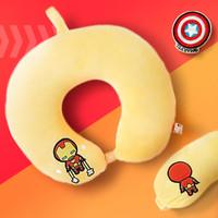 Miniso Official Marvel U-shaped Neck Pillow & Eye Mask