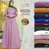 MIRNA DRESS KALEM BANGET / SIZE XL-XXL LD 105-110 PB 140/ Ori by Alila