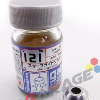 Promo Gaia Paint Ga 121 - Star Bright Silver - Gundam Model Kit