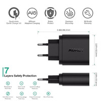 Quick Charge 3.0 AUKEY PA-T9-USB Wall Charger berkualitas