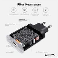 Aukey Wall Charger USB QuickCharge 3.0 EU Plug - PA-T9 berkualitas