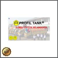 Tangki Air Stainless Profil Tank PS 1500 D Toren Tandon Air