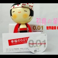 PROMO SAGAMI ORIGINAL 0.01 - MADE IN JAPAN, THE THINNEST CONDOM IN THE