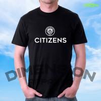 Kaos Premium - Citizen Manchester city - unisex S M L XL XXL