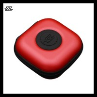 Knowledge Zenith Earphone Hard Case Pu - Merah