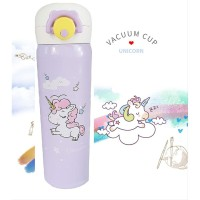 Botol Minum Unicorn - 500 ml Termos Vacuum Thermal Stainless Steel