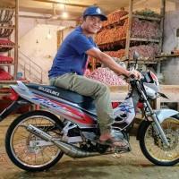 Knalpot Suzuki Rk Cool Kolong Samping Stainless TNX Racing Product