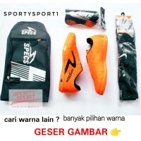 BISA BAYAR DI TEMPAT COD Sepatu Futsal Specs Spyder Lightspeed Iluzion