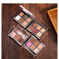 O.TWO.O Palette Eyeshadow + Glitter Blusher Pallete KODE G-9982 /