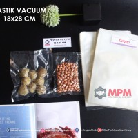 Plastik Vacuum 18 X 28 Cm Vacum Bag, Plastic Vakum Mesin Sealer Murah