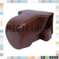 Fullcase For Fujifilm X-a3 / X-a10 / X-A2 / XA-5 Half Leather Case