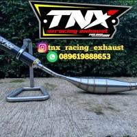 Knalpot Satria 2 Tak Repsol Stainless Silencer Karbon TNX Racing E