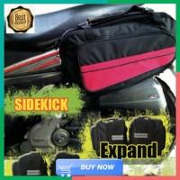 New M619 Sidebag motor Side Bag Oval Tas Samping Motor Waterproof