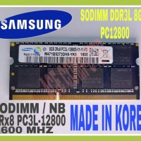 Ram Samsung Sodimm Pc3L / Ddr3L Ddr3 8Gb Pc 12800 374000 587200 30 0