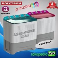 Mesin Cuci 2 Tabung Polytron PWM 1368 Primadona Samba Low Watt 10 KG