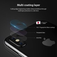 TEMPER GLASS CAMERA LENS IPHONE X / XS / XS MAX FULL PROTECTION