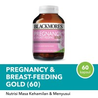 Blackmores Pregnancy & Breastfeeding Gold 60 Kps BPOM KALBE
