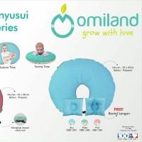 Omiland Bantal Menyusui Cube Series OBB1581 free bantal lengan