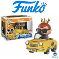 Funko POP! Rides Freddy Funko - Freddy's Ride (NY Taxi) NYCC EXCLUSIVE