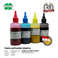 ART PAPER INK FOR PRINT HEAD EPSON 100 ML - SET 4 WARNA