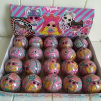 Mainan Anak LOL Egg Surprise Ball Banting harga Murah Cocok Buat Kado