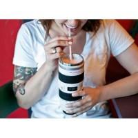 [PUTIH] Mug Canon EF 70-200 Termos Cup Botol Gelas Unik Lensa Kamera