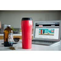 [MERAH] Mighty Mug / Botol Ajaib Anti Tumpah Termos Gelas Tumbler H331