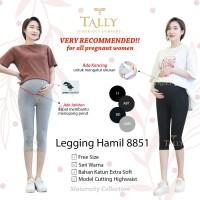 Celana Legging Hamil Selutut - Celana Legging Hamil Tally 8851