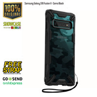 Ringke Samsung Galaxy S10 S10plus S10e Fusion X Softcase Military