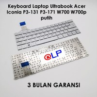 Keyboard Laptop Ultrabook Acer Iconia P3-131 P3-171 W700 W700p Silver