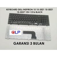 Keyboard Dell Inspiron 15 15-3521 15-5521 15-5537 15V-1316 Black