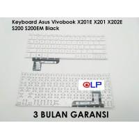 Keyboard Asus Vivobook X201E X201 X202E S200 S200EM White