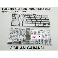 Keyboard Asus TP300 TP300L TP300LA Q302 Q302L Q302LA Silver