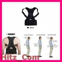 TaffSPORT Belt Magnetic Terapi Koreksi Postur Punggung Size L T025