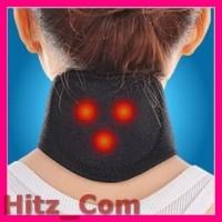 Terapi Leher Magnetic Tourmaline Therapy Neck Massager DA 3484 Bla