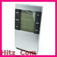 Weather Station Humidity Temperature Alarm Desk Clock Jam Alarm 32
