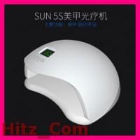 SUNUV 5S Pengering Kutek Kuku UV LED Nail Dryer 48W White