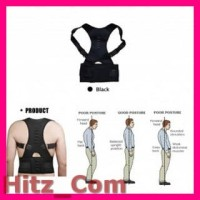 TaffSPORT Belt Magnetic Terapi Koreksi Postur Punggung Size XL T025
