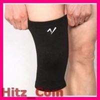 Sport High Elastic Knee Pads Pelindung Lutut Black