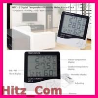 Taffware Digital Temperature Humidity Meter with Clock Alarm Calende